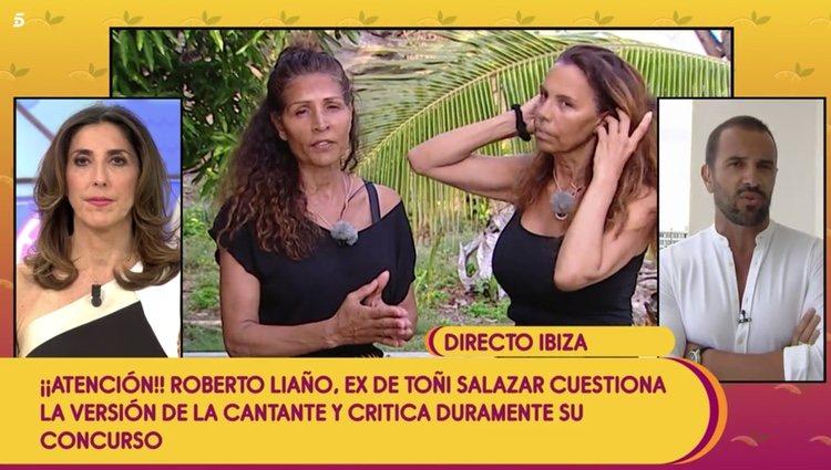 Roberto Liaño habla sobre Azúcar Moreno para 'Sálvame' Foto: Telecinco