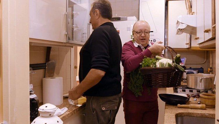 Paco Porras en 'Ven a cenar conmigo' | Foto: cuatro.com