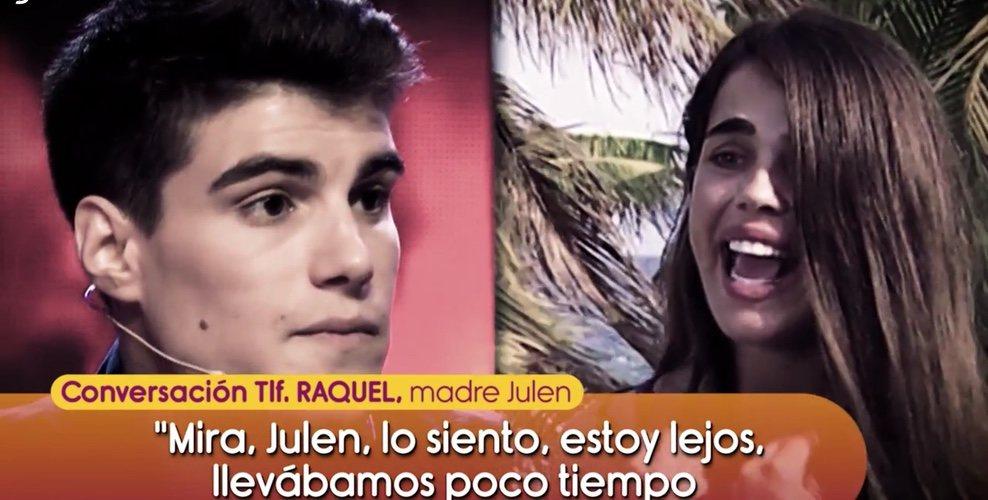 Violeta Mangriñán y Julen rompen en directo en 'Supervivientes' Foto: Telecinco
