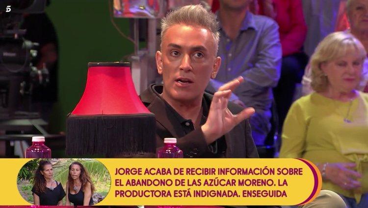 Kiko Hernández habla de Rosa Benito en 'Sálvame' Foto: Telecinco