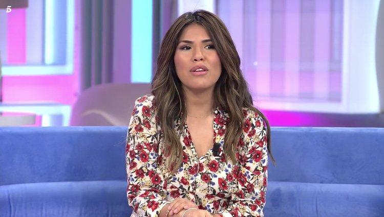 Chabelita Pantoja habla de cómo pasó la útlima noche con Isabel Pantoja antes de que esta entrara en prisión Foto: Telecinco