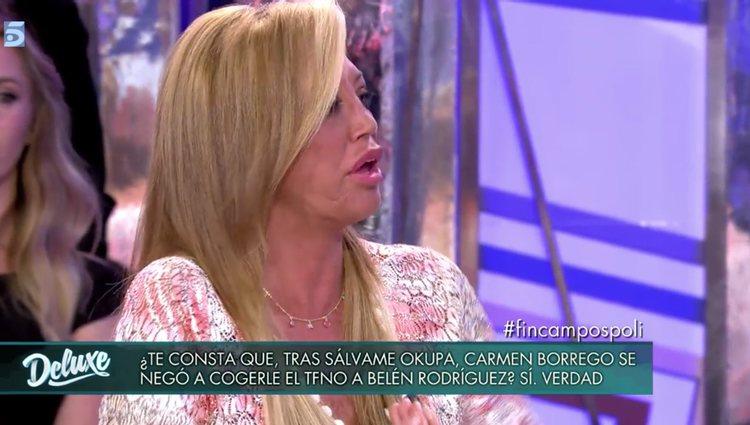 Belén Esteban defiende a Belén Rodriguez y valora su amistad / foto: telecinco.es