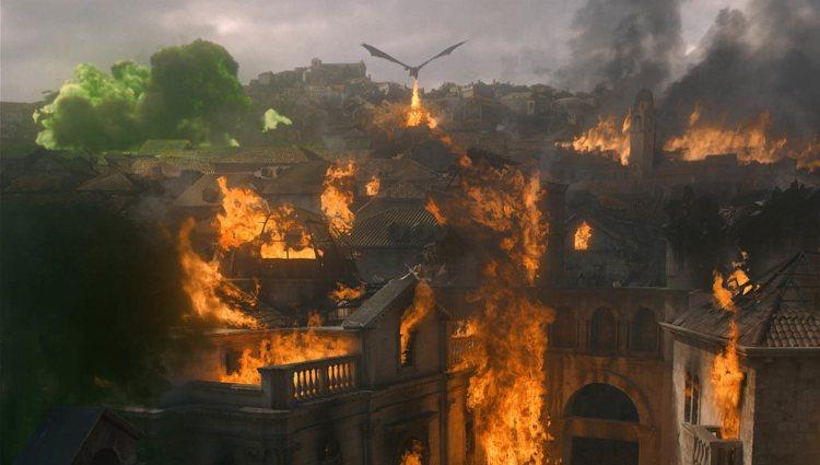 Desembarco del Rey queda destruida en el penúltimo episodio