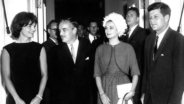 Recepción oficial del matrimonio Kennedy a los Príncipes de Mónaco en la Casa Blanca | Tumblr