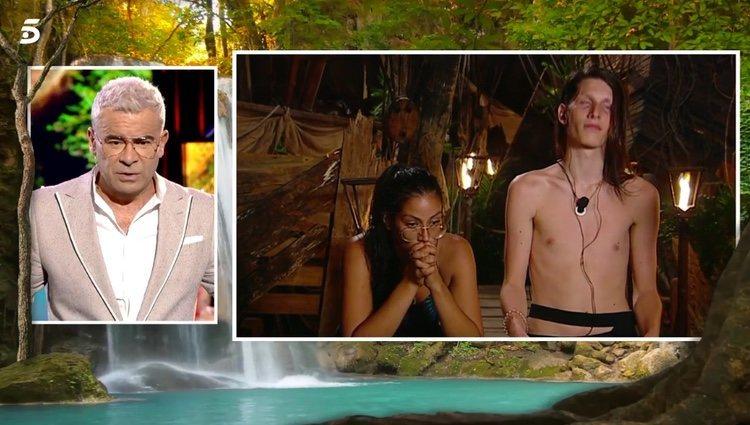 Jorge Javier reprimiendo a Dakota en 'Supervivientes' Foto: telecinco.es