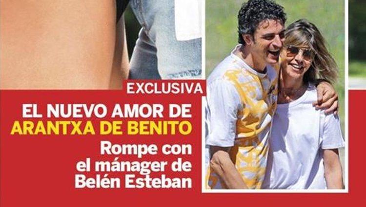 Arancha de Benito en la portada de Lecturas con su nuevo novio