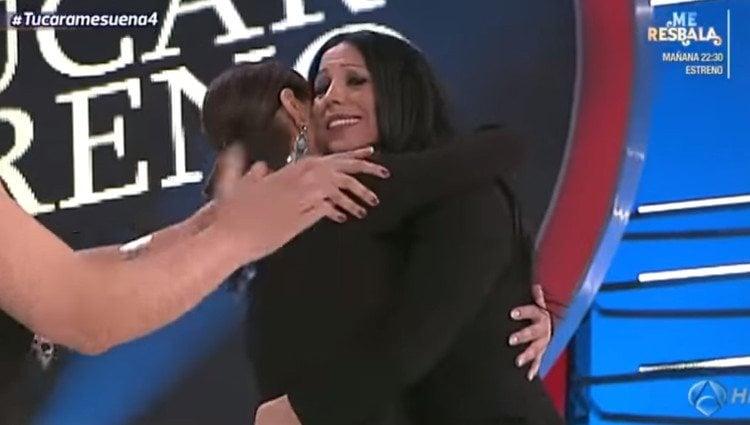 Encarna y Toñi Salazar se reconcilian en 'Tu cara me suena'/Foto:Atresmedia