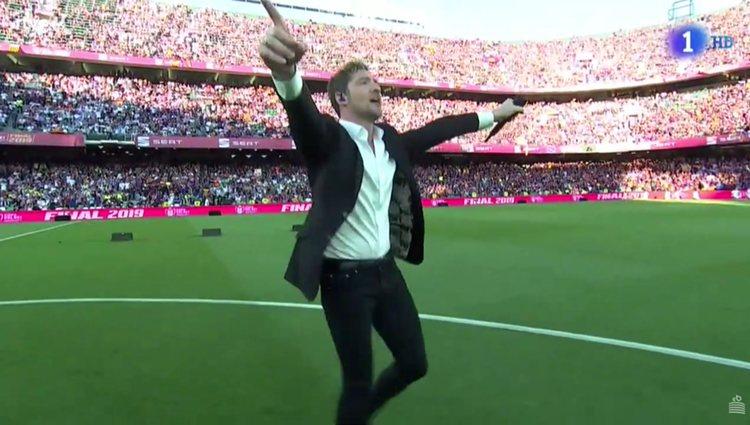 Los aficionados prefieren entonar los cánticos futboleros / Foto: RTVE.es