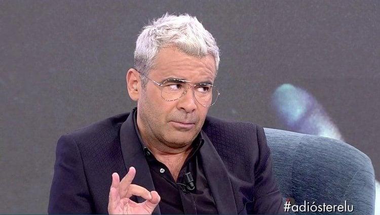 Jorge Javier Vázquez hablando de la entrevista de Carmen Borrego / Telecinco.es