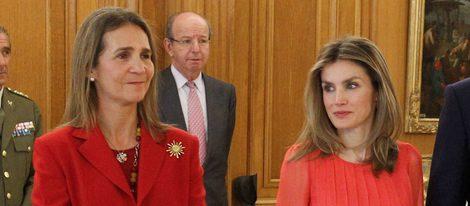 La Infanta Elena y la Princesa de Asturias
