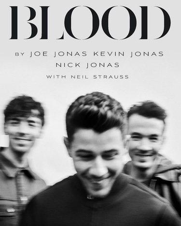 Portada del libro de los Jonas Brothers