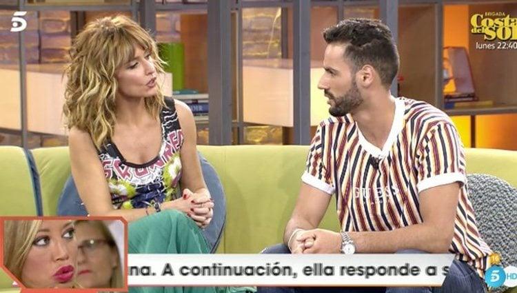 Asraf durante su entrevista en 'Viva la vida' | Foto: Telecinco