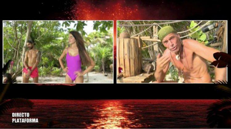 Los 'abandonados' mandan a Violeta con Carlos al palafito | telecinco.es