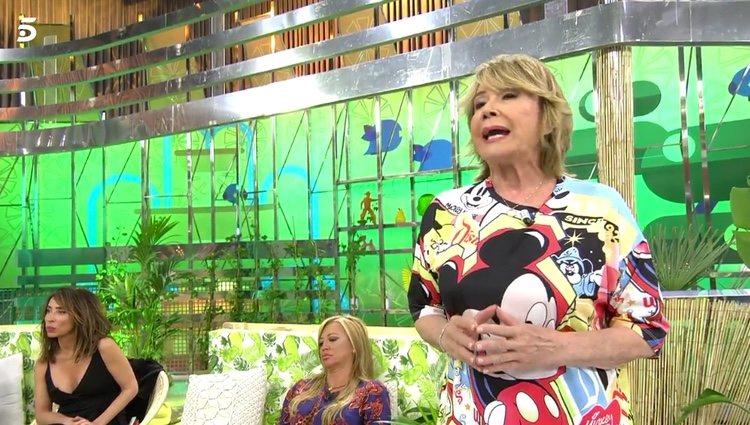 Mila Ximénez cargando contra la mujer de Chelo García Cortés / Telecinco.es