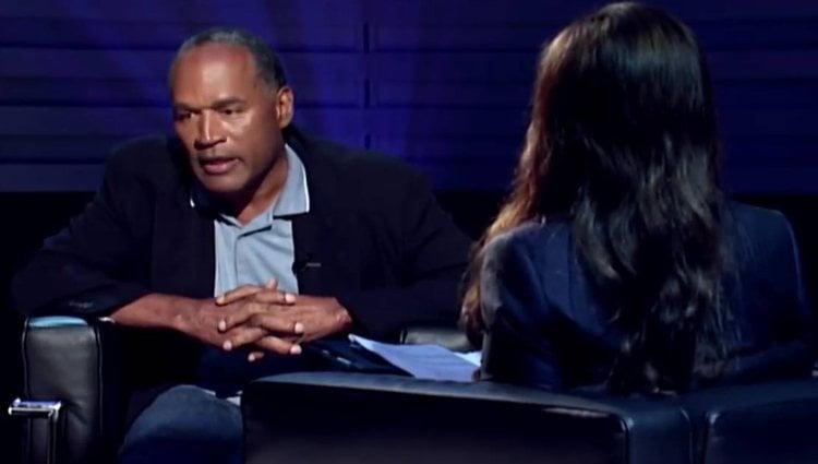 O. J. Simpson en la entrevista para FOX en 2006