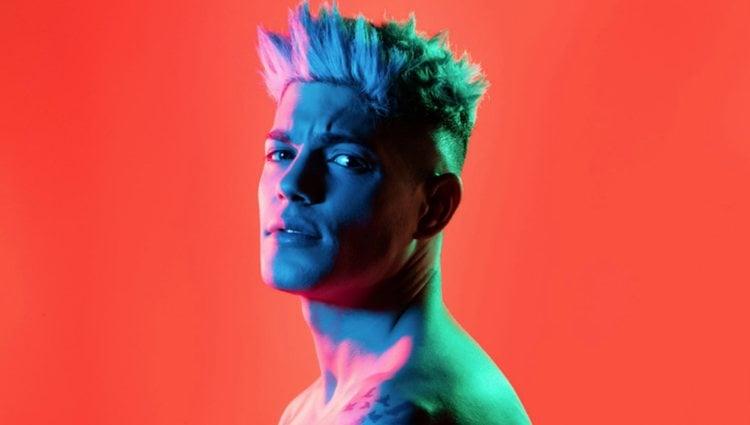 David Lafuente en la portada de su nievo single