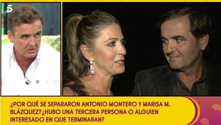 Antonio Montero describe el acoso que sufrió su exmujer | Foto: Telecinco