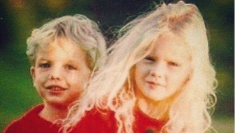 Austin y Taylor Swift cuando eran pequeños/Foto:Instagram
