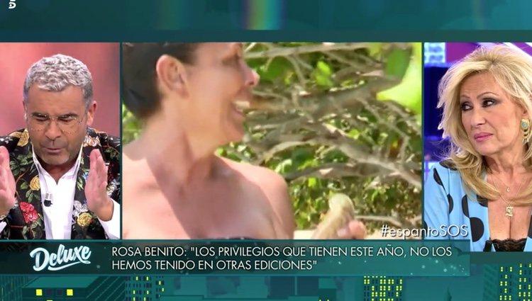 Jorge Javier Vázquez reflexiona sobre Pantoja en 'Deluxe' | Foto: Telecinco.es