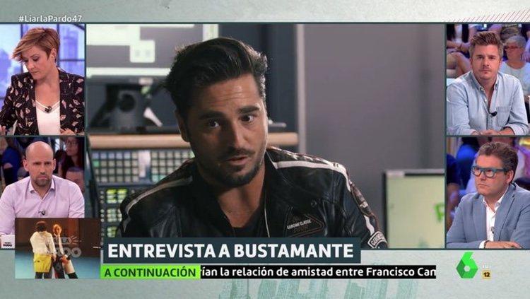 David Bustamante en su entrevista de 'Liarla Pardo'/ Foto: La Sexta