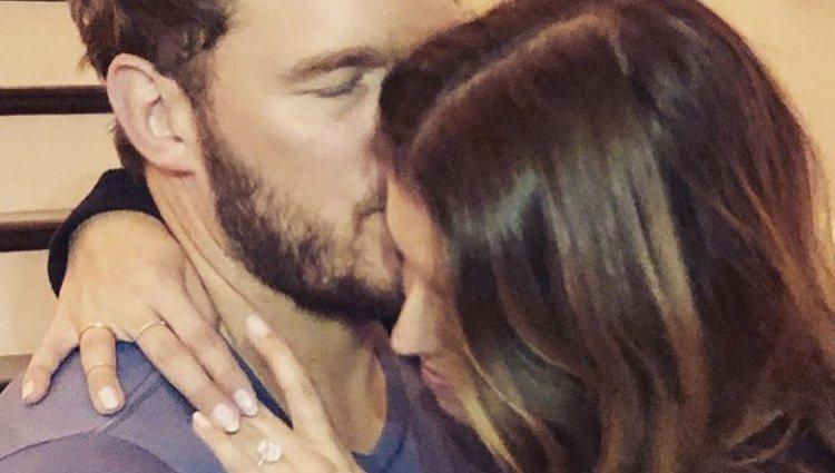 Chris Pratt y Katherine Schwarzenegger comparte la foto de su anillo de compromiso / Foto: Instagram