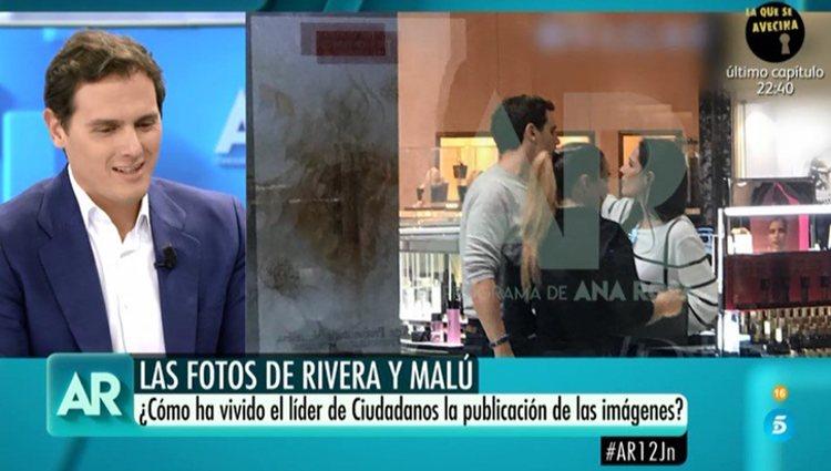 Albert Rivera en el programa de Ana Rosa Quintana | Foto: Telecinco.es