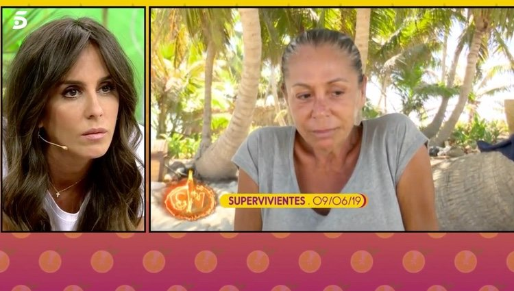 Anabel Pantoja habla de Isabel Pantoja |Foto: telecinco.es