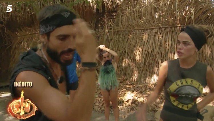 La relación de Fabio y Violeta podría verse afectada / foto: telecinco.es