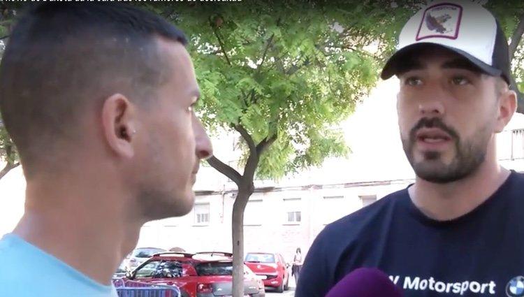Rubén es entrevistado por Sergi Ferré en 'Sálvame' / Foto: Telecinco.es