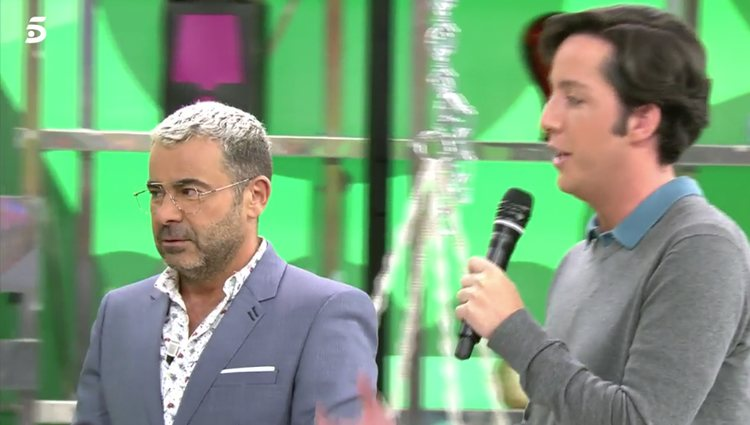 El Pequeño Nicolás aparece en 'Sálvame' al cancelarse su intervención en 'Todo es mentira' / Foto: telecinco.es