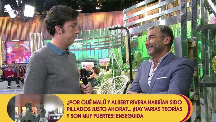 Jorge Javier se ríe de la situación judicial del Pequeño Nicolás / Foto: telecinco.es