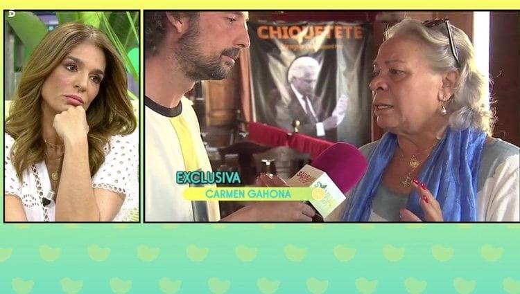 Raquel Bollo responde a Carmen Gahona en 'Sálvame' | Foto: Telecinco.es