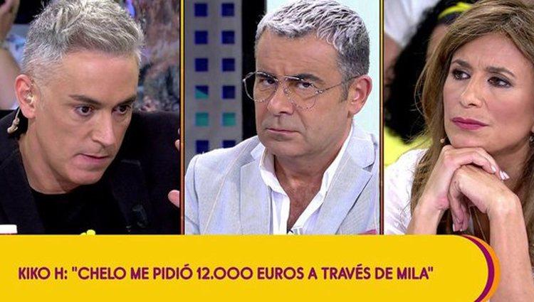 Kiko Hernández hablando del préstamo a Chelo | Foto: Telecinco