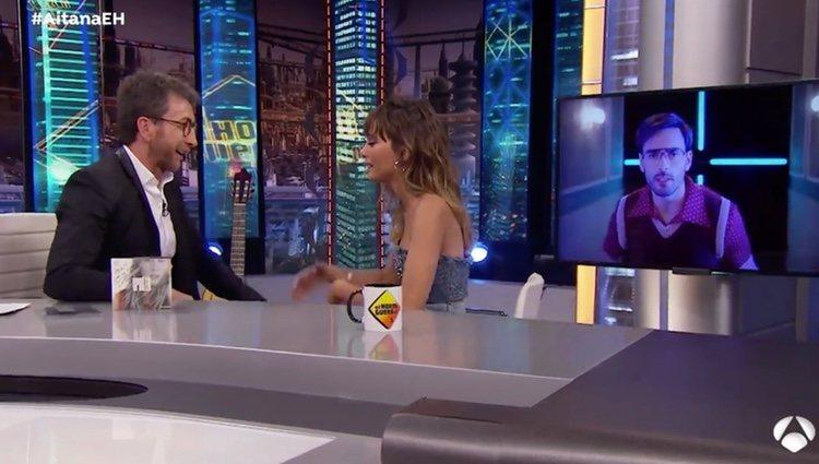 Aitana durante su entrevista en 'El Hormiguero' | Foto: antena3.com