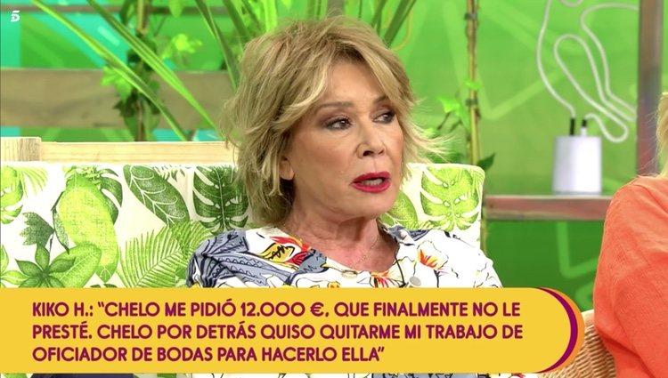 Mila Ximénez hablando sobre su enfrentamiento con Gema López Foto: Telecinco