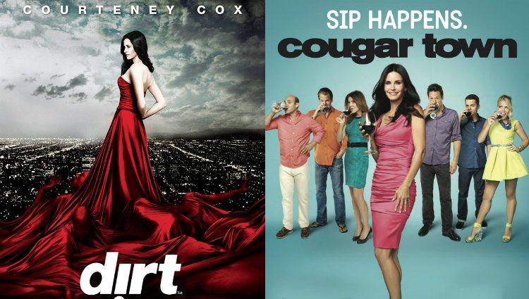 Courtney Cox protagonizó 'Dirt' y 'Cougar Town' | FX |ABC