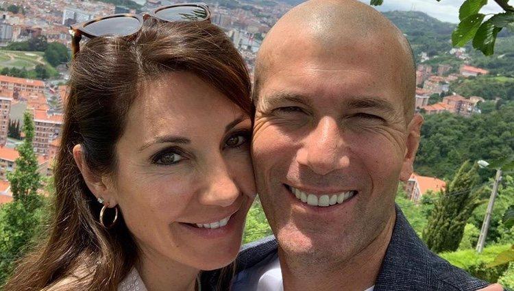 Zinedine Ziane junto a su mujer visitando Bilbao / Foto: Instagram
