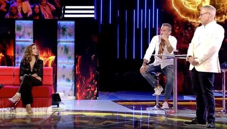 Miriam Saavedra y Carlos Lozano en 'Conexión Honduras' / Foto: Telecinco.es