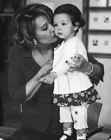 María Teresa Campos y Alejandra Rubio cuando era pequeña | Instagram
