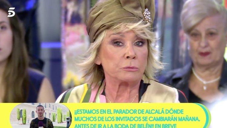 Mila Ximénez da su opinión sobre Belén Esteban y su exclusiva   Foto: telecinco.es