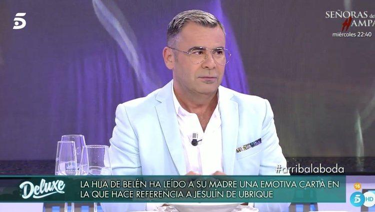 Jorge Javier Vázquez habla de lo que ha vivido en la boda | Foto: telecinco.es