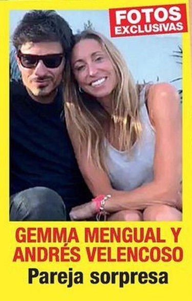 Gemma Mengual y Andrés Velencoso en la portada de Diez Minutos