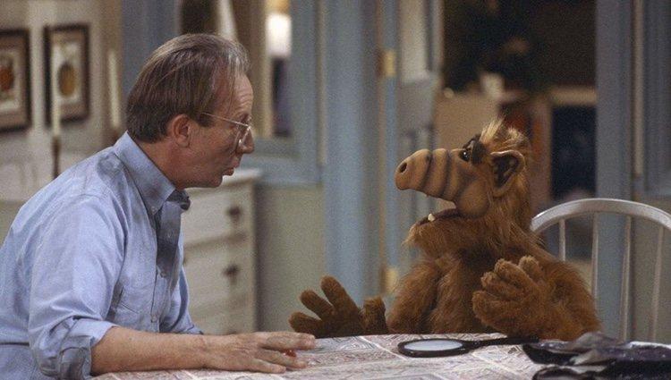 Fotograma de la serie 'Alf'