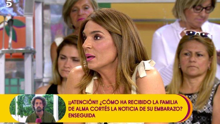 Raquel Bollo asegura que no hablará del tema / Telecinco.es