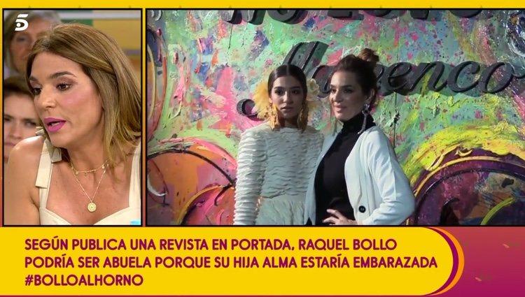 Advierten a Raquel Bollo de que tiene topos / Telecinco.es