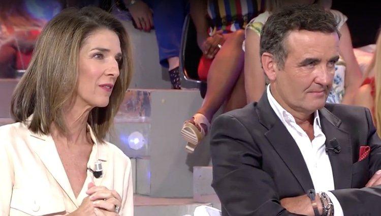 Paloma García Pelayo y Antonio Montero en 'Sábado Deluxe' / Foto: Telecinco.es