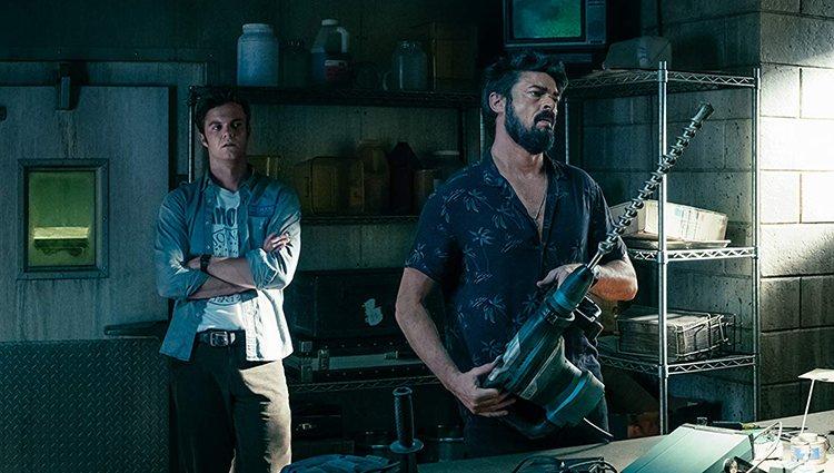 Billy Butcher y Hughie, dos de los personajes de 'The Boys'