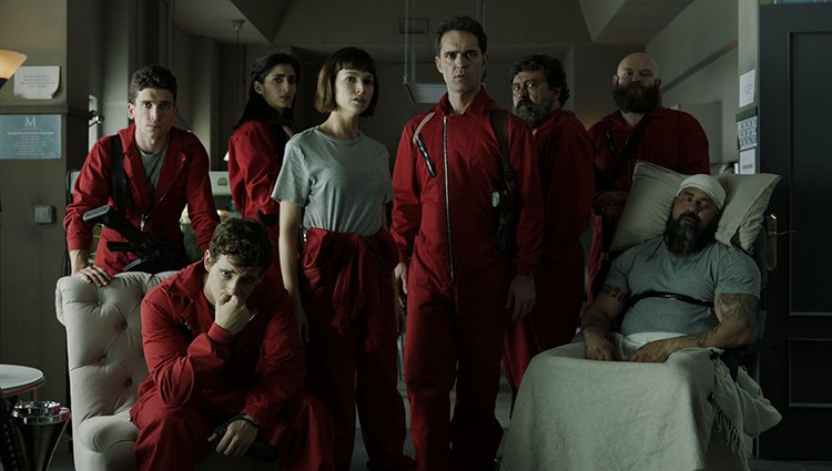 Imagen de la tercera temporada de 'La casa de papel'