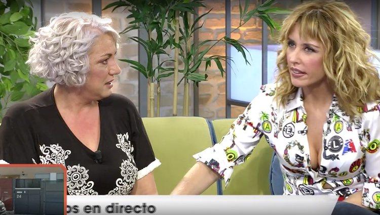 La madre de Dakota en 'Viva la Vida' / Foto: Telecinco.es