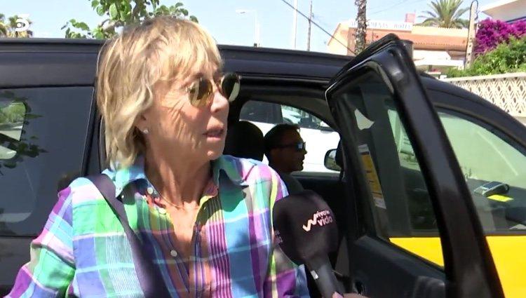 Marta Roca hablando para 'Viva la vida' / Telecinco.es